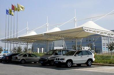 膜结构停车场