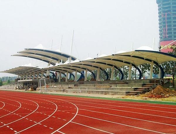 海南体育场看台膜结构
