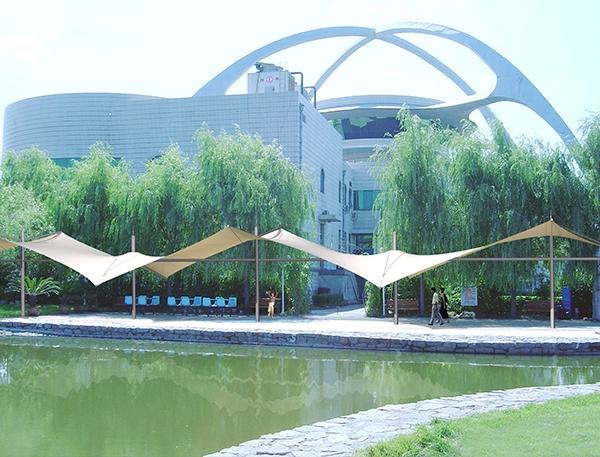 张拉亭膜结构景观