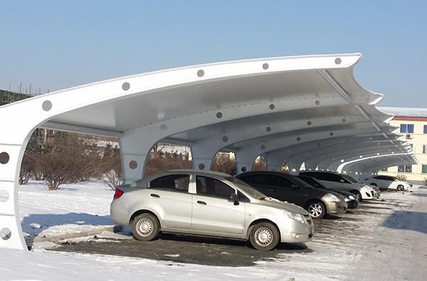 沈陽炮兵學院膜結構車棚