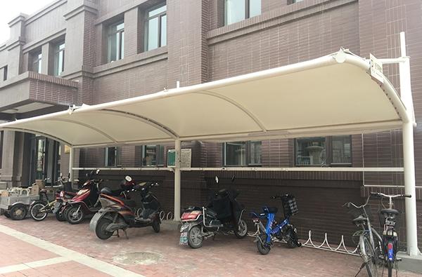 營口青花集團膜結構車棚
