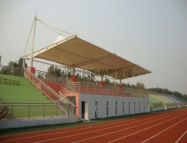 膜结构体育场看台雨棚