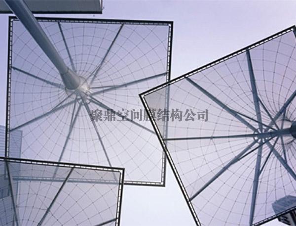 透明膜膜结构