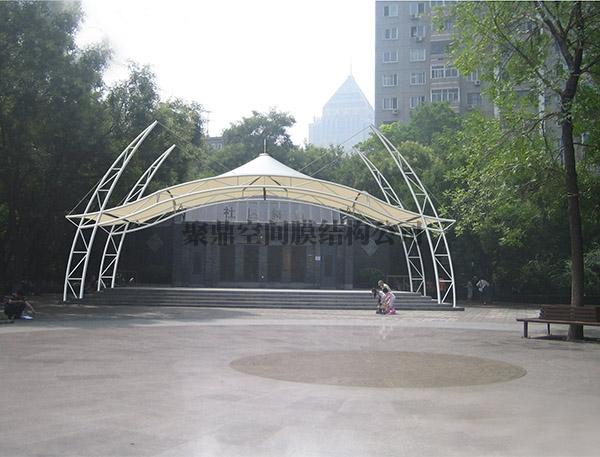 膜结构表演台