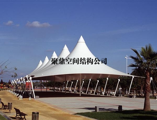 休闲广场膜结构