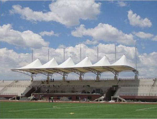 体育场看台膜结构雨棚